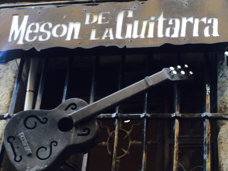 Meson de la Guitarra, Madrid Spain