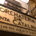 Horchata de Santa Catalina Valencia, Spain