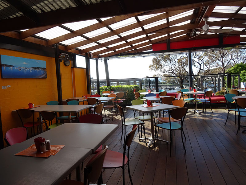 Boardwalk Café Ulladulla, Australia