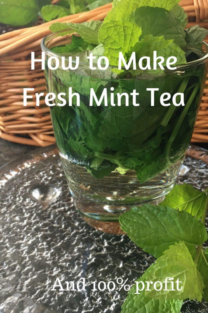How to Make Fresh Mint Tea