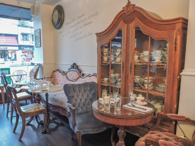 Neverland Tea Salon in Kitsilano, Vancouver