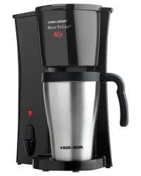 Black + Decker Brew 'n Go Personal Coffee Machine