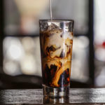 iced cold coffee brew