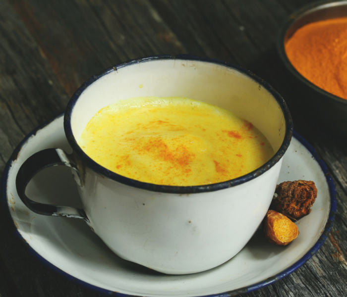 How To Make A Golden Turmeric Latte