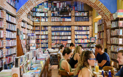 Abaco Libros and Cafe in Cartagena, Colombia