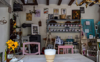 Cafe Einzigartig in Rothenburg ob der Tauber, Germany